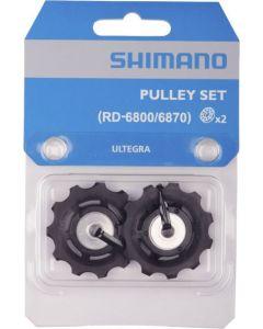 Shimano RD-6800 11sp derailleurwieltjes