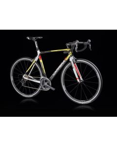 Carrera Veleno frameset -A6-46 Zwart-Geel-Rood-L