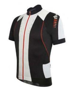 Zero RH+ Phantom FZ shirt korte mouw-Zwart-Rood-M