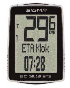 Sigma BC16.16 STS draadloze fietscomputer + cadans
