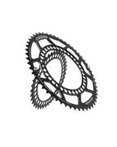Rotor Q-ring race 130bcd, buiten kettingblad-zwart