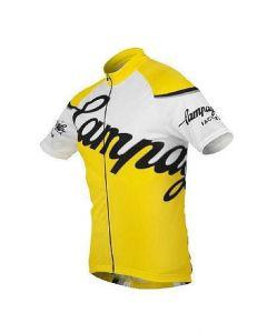 Campagnolo Factory Team wielershirt korte mouw-Geel