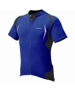 Shimano Full-Zip wielershirt korte mouw