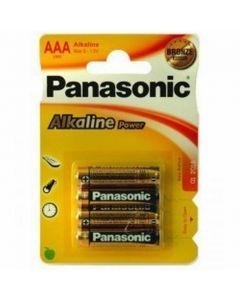 Panasonic AAA batterijs (4st)