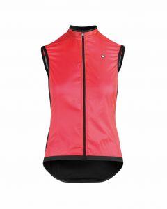 Assos Uma GT Wind dames wielervest mouwloos-Galaxy pink-XL
