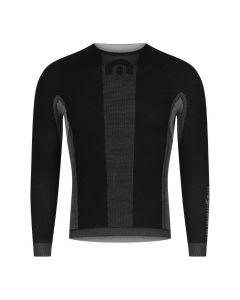 Megmeister Drynamo Winter Cycle ondershirt lange mouw-Zwart-S/M