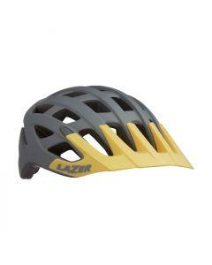 Lazer Roller fietshelm-Grijs-Geel-S