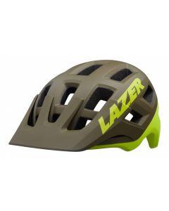 Lazer Coyote MIPS fietshelm-Mat groen-Flash geel-S