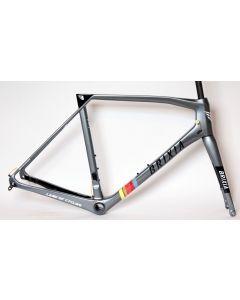 Brixia Cidneo disc frameset-Antraciet-XS