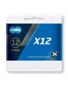 KMC X12 12sp ketting-Zilver