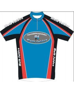 Campagnola wielershirt korte mouw-Zwart-Blauw-3XL