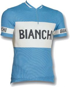 Bianchi Classic wielershirt korte mouw