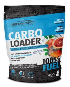 Performance Carbo Loader energiedrank-Bloedsinaasappel-500gr
