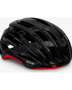 Kask Valegro fietshelm-Zwart-Rood-S