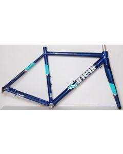 Cinelli Semper disc frameset-Blauw-S