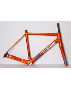Cinelli Veltrix disc frameset-Orange metalic-M