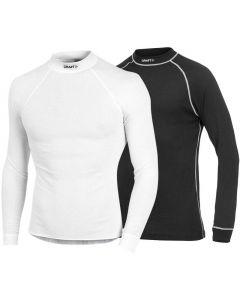 Craft Active Multi 2-pack ondershirt lange mouw-Zwart-Wit-XL