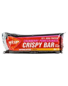Wcup Crispy Bar energiereep-Cranberry-Pomegranate-40gr