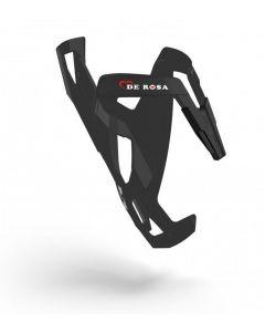 Elite De Rosa fiberglass bidonhouder-Mat zwart