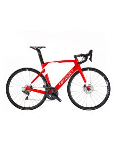 Wilier 101Air Ultegra disc-A15 Rood-Wit glossy-M