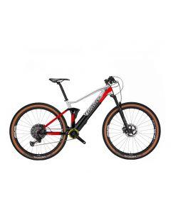 Wilier 101FX HYBRID XT-P6 Grijs-Zwart-Rood glossy-M