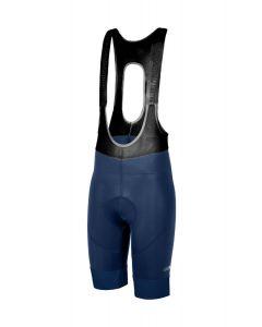 Zero RH+ Logo koersbroek met bretels-Blauw-XL