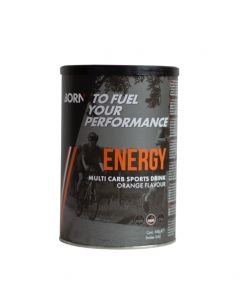 Born Energy Multi Carbo energiedrank-Orange-540gr