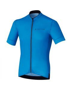Shimano S-Phyre wielershirt korte mouw-Blauw-L