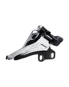 Shimano XT M8100 2x12sp voorderailleur-Zilver