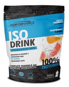 Performance Isodrink dorstlesser-Grapefruit-500gr