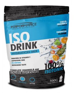 Performance Isodrink dorstlesser-Tropical-500gr