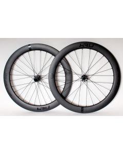 KRU C-60D carbon disc wielset-Zwart