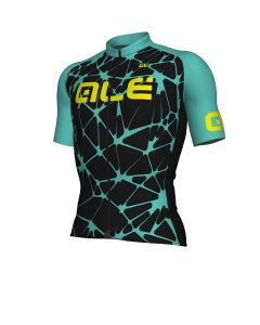 Alé Solid Cracle wielershirt korte mouw-Turquoise-M