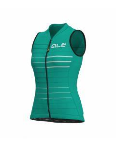 Alé Solid Ergo dames wielershirt mouwloos-Emerald-XL