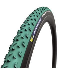 Michelin Power Cyclocross Mud TLR vouwband-Groen-Zwart-700x33