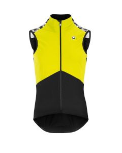 Assos Mille GT Spring/Fall Airblock wielervest mouwloos-Fluo yellow-M