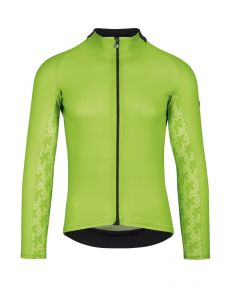Assos Mille GT Summer wielershirt lange mouw-Visibility green-XLG
