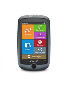 Mio Cyclo Discover Connect GPS fietsnavigatie-Grijs