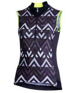Nalini Elegante 2.0 dames wielershirt mouwloos-Zwart-2XL
