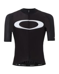 Oakley Premium Branded wielershirt korte mouw-Blackout-M
