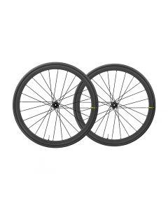 Mavic Ksyrium Pro carbon UST disc centerlock WTS wielset-Zwart