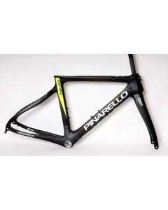 Pinarello Gan disc frameset-Mat zwart-Fluorgeel-44