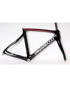 Pinarello Gan disc frameset-847 Zwart-Rood-55