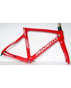 Pinarello Gan disc frameset-288 Red-51.5