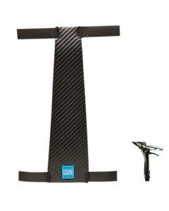 Pro Dropper zadelpenbeschermer-Carbon-M