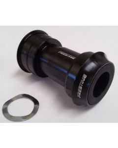 Prestine BB Right 46>Shimano 24 Press-Fit adapters Shimano-Zwart