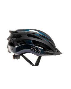 Zero RH+ Two in One fietshelm-Iridescent-Mat zwart-L/XL
