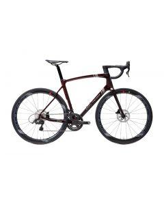 Eddy Merckx 525 Ultegra disc-Bourgogne red metallic-Gunmetal grey-S