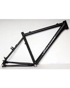 Massini Sinergy MTB V-brake/disc frameset-Mat zwart-42