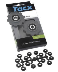 Tacx T4020 universele 7/8/9/10sp RVS derailleurwieltjes